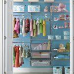 Організовуємо особистий простір для одягу малюка