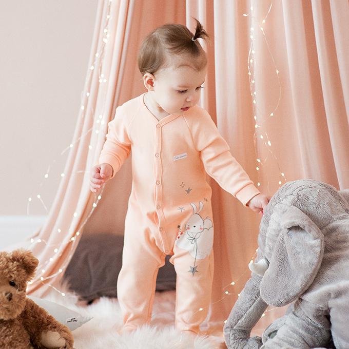 Домашняя одежда грудничков в холодное время года