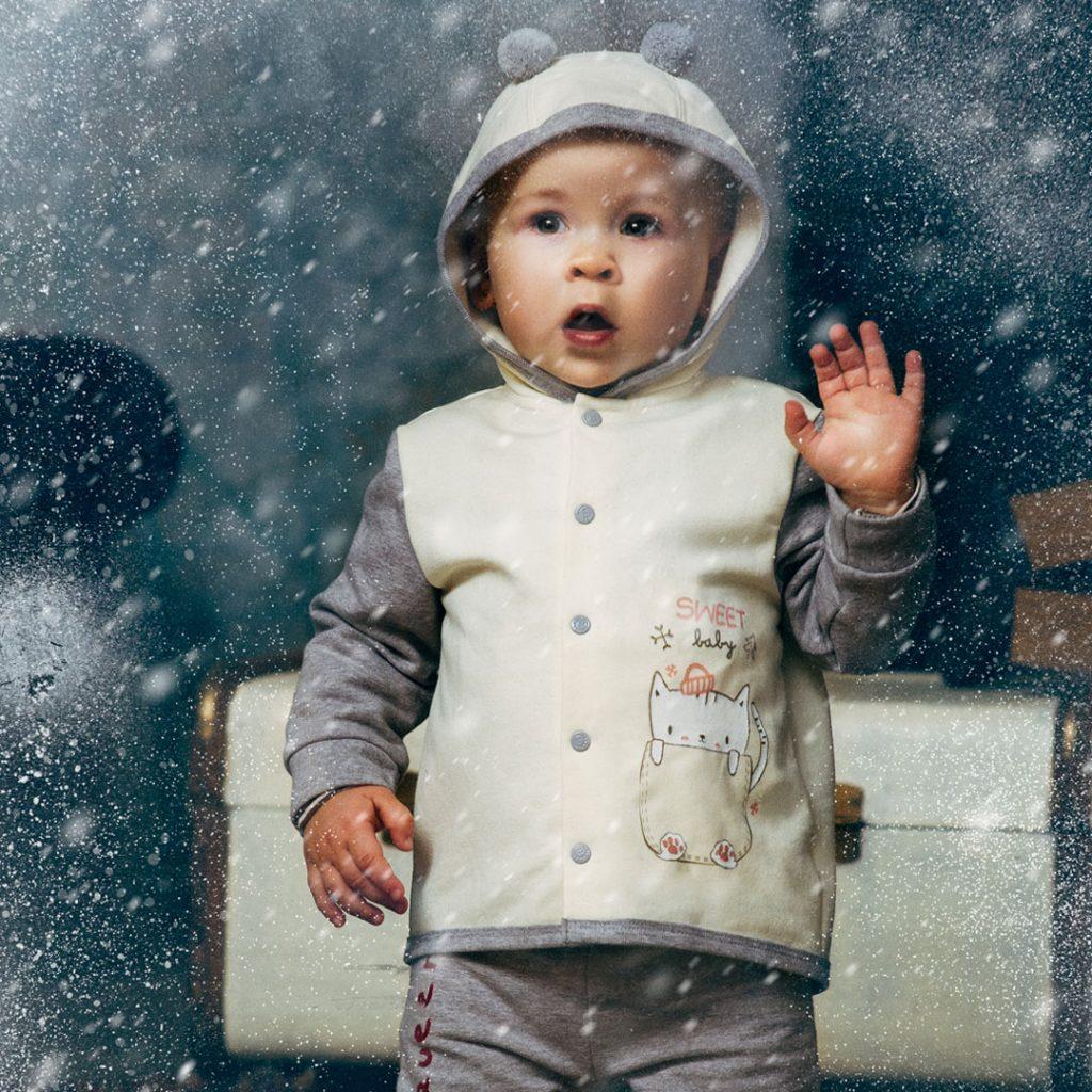 Зимняя одежда для самых маленьких