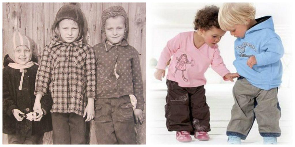 Стоит ли маленького ребенка одевать по-взрослому