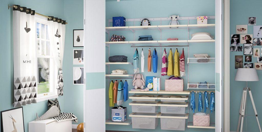Организовываем личное пространство для одежды малыша