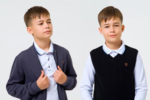 Детские футболки поло: как сочетать со школьной формой - изображение 2